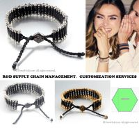 Customized Fashion Supply Chain for Woven rope Bracelets