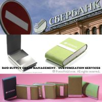 Customized Genuine Leather Card Holder for Men