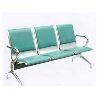 Hot sale high quality customer beauty 3 seats white steel salon furniture waiting room chairs
