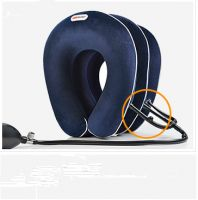 High quality deluxe folding support neck cervical traction collar device