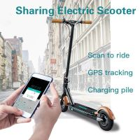 Sharing electric scooter lock for Scan QR code unlocked scooter with gps tracking and anti theft alarm system