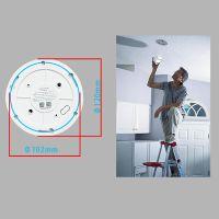 Wdm 2018 New Fire Smoke/Dangerous Gas Alarm Network CCTV Security WiFi HD IP Camera