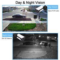 CCTV 12MP 4K Ultra HD Video Surveillance IR Bullet IP Camera