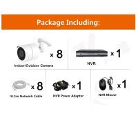 CCTV 8CH 5.0MP Poe IP Camera Security Poe NVR Kits From CCTV Cameras Suppliers