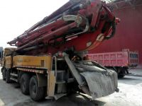 PUTZMEISTER 46M CONCRETE PUMP MB CHASSIS TRUCK