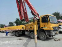 PUTZMEISTER 46M CONCRETE PUMP MB CHASSIS TRUCK
