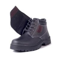 Comfortable Steel Toe Industrial Welding Safety Boots for Work