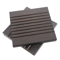Strand Woven Bamboo outdoor decking with big waves