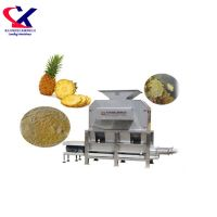High Quality Automatic Pineapple and Lemon Peeler and Juicer Machine