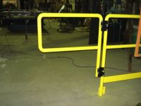 Standard industrial handrail and security gate