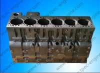 6C Single Thermostat Cylinder Block for Diesel Engine