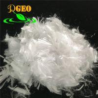 Polypropylene staple fiber