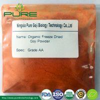 GMP Standard Organic Goji Berry Juice Powder