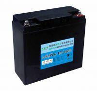 Optimumnano sealed 12v 18ah li-iron battery for golf cart