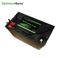 Optimumnano sealed 12v 80ah li-iron battery for solar energy storage system, replace lead acid battery