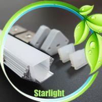 2018New products waterproof led strip light heat sink aluminum profile