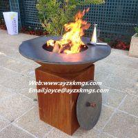 plasma laser CNC cutting fireball fire pit outdoor decorative