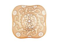 Beige Cabinet Ceramic Knobs, Set of 4 | Artisanal Creations