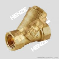 Thread NPT BSP Flanged RF FF Bronze Brass Y Strainer