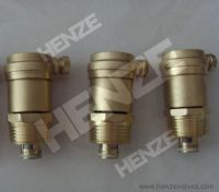 Brass Threaded Foot Valve or Brass Threaded Air Release Valve