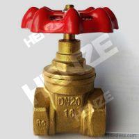 Thread NPT BSP Flanged RF FF Bronze Brass Gate Valve