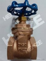 Thread NPT BSP Flanged RF FF Bronze Brass Gate Valve