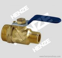 Thread NPT BSP Flanged RF FF Bronze Brass Ball Valve