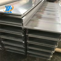 Waterproof Powder Coated Pre-Galvanized Cable Trunking Prices