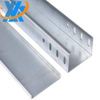 Manufactured Gi Cable Trunking Cable Tray with Cover