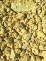 sulfur lumps