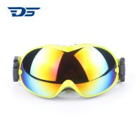 2018 Windproof anti-fog 100% UV protective Professional ski glasses