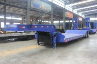 2 axle 700mm height low loader semi trailer