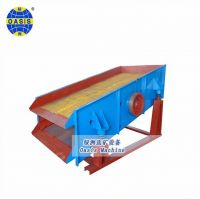High Efficiency linear stainless steel vibrating screen for mining with good sale