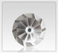 customized precision investment casting titanium impeller
