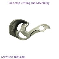 custom titanium casting bicycle dropouts with cnc machining service