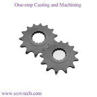 precision investment casting titanium stain steel aluminium alloy gear for bicycle parts