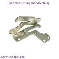 titanium stain steel aluminium alloy investment casting saddle parts for horse riding equipment
