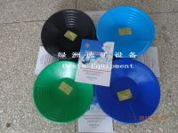 High portable plastic washing pan for gold