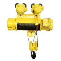 0.5 ton - 20 ton CD & MD Electric Wire Rope Hoist Crane good quality china price
