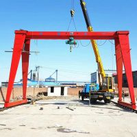 2 ton-32 ton Single Girder Gantry Crane customized dual speed 30m design drawing