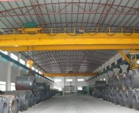 5 ton-50 ton Double Girder Overhead Crane traveling busbar price in bridge crane