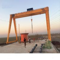 5 ton - 320 ton Double Girder Gantry Crane 50m mobile gate crane lifting machinery design drawing