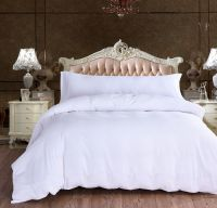 Home and Hotel use white seersucker 100% cotton duvet cover set