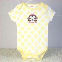 newborn baby bodysuits 3 pk set OEM factory China