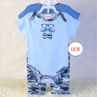 China baby garment OEM factory makes baby sets according to customers' samples