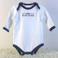 newborn baby 5 pack long sleeve bodysuits China baby garments OEM factory