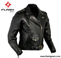 Men Leather Brando Jacket