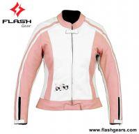 Women Cordura Leather Jacket