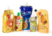 Food grade Stand up flat bottom snack plastic packaging bag side gusset bag