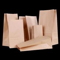 Customized Brown Kraft Paper Bag
